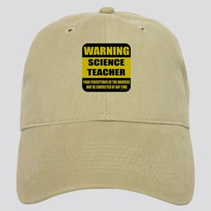 Warning science teacher Cap