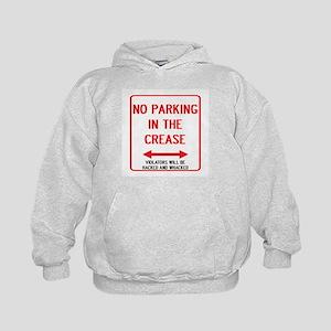 No Parking In The Crease Kids Hoodie