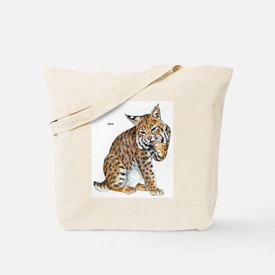 Bobcat Wild Cat Tote Bag