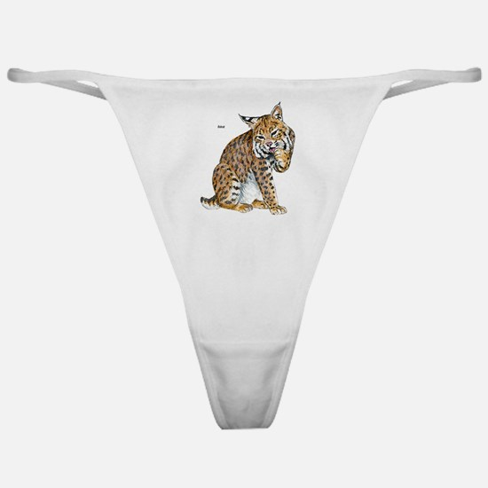Bobcat Wild Cat Classic Thong