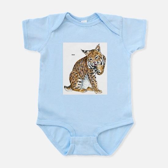 Bobcat Wild Cat Infant Creeper