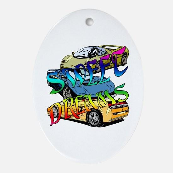Sweet Dreams Ornament (Oval)