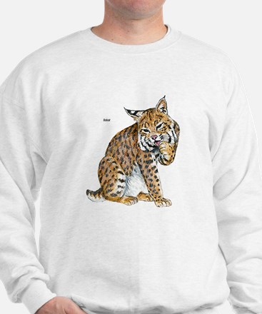 Bobcat Wild Cat (Front) Sweatshirt