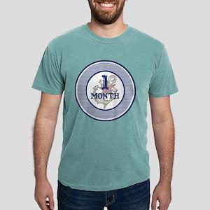 Pirate 1 Month Milestone Mens Comfort Colors® Shir