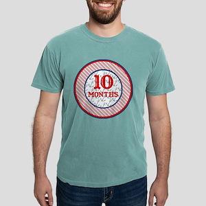 Pirate 10 Months Milestone Mens Comfort Colors® Sh