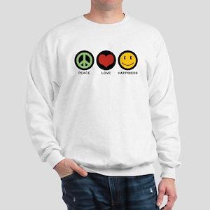 Peace Love Happiness Sweatshirt