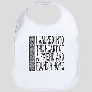 HEART OF A FRIEND Bib