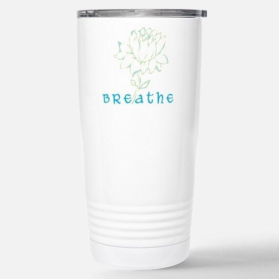 Breathe 2 Stainless Steel Travel Mug