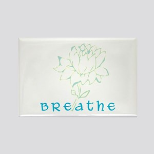 Breathe 2 Rectangle Magnet