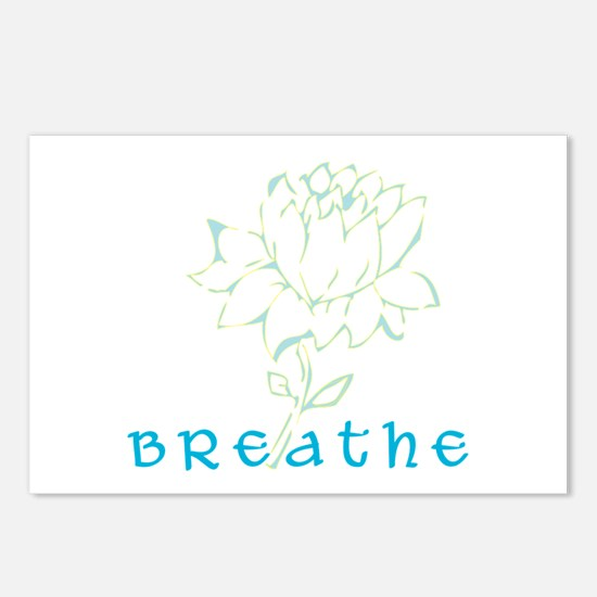 Breathe 2 Postcards (Package of 8)