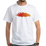 Keeping the roads hot! White T-Shirt