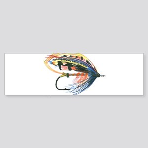 Fishing Lure Art Bumper Sticker