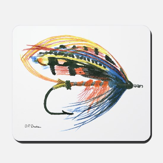 Fishing Lure Art Mousepad