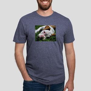 Baby Rufus Grass copy Mens Tri-blend T-Shirt