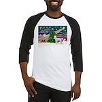 Xmas Magic & Poodle Baseball Jersey