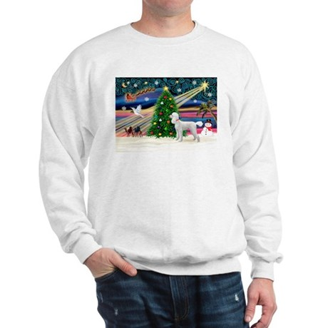 Xmas Magic & Poodle Sweatshirt