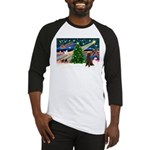 XmasMagic/Poodle (ST-ch) Baseball Jersey