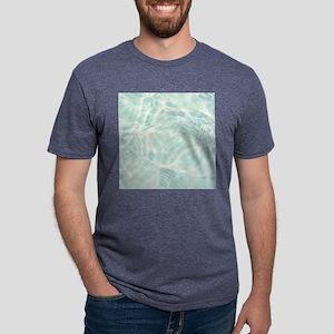 Summer Water Reflection Mens Tri-blend T-Shirt