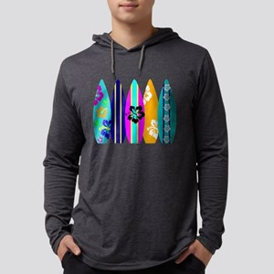 Surfboards Mens Hooded Shirt