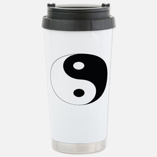YIN and YANG Stainless Steel Travel Mug