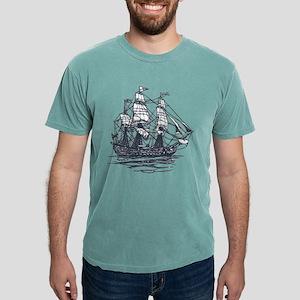 Nautical Ship Mens Comfort Colors® Shirt