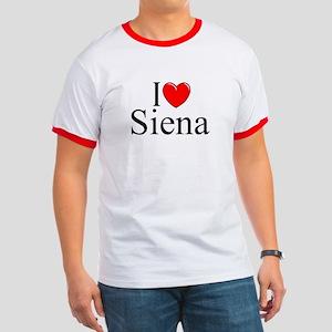 """""""I Love (Heart) Siena"""" Ringer T"""