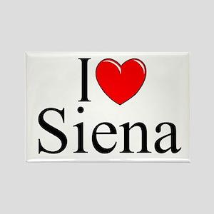 """""""I Love (Heart) Siena"""" Rectangle Magnet"""