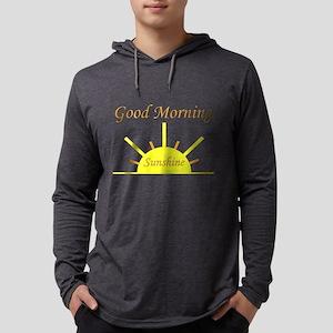Good Morning Sunshine Mens Hooded Shirt