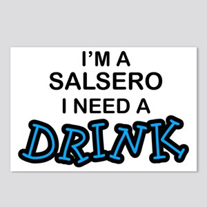 Salsero Need a Drink Postcards (Package of 8)