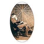 Tesla-3 Oval Sticker