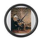 Tesla-3 Large Wall Clock