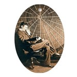Tesla-3 Oval Ornament