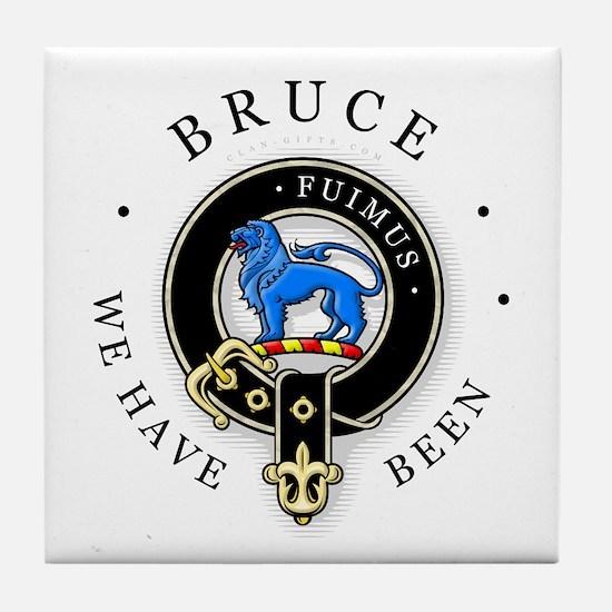 Clan Bruce Tile Coaster