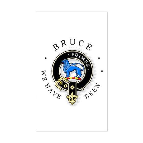 Clan Bruce Rectangle Sticker