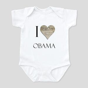 I Heart Obama Infant Bodysuit