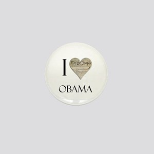 I Heart Obama Mini Button