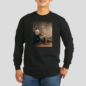 Tesla-3 Long Sleeve Dark T-Shirt