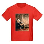 Tesla-3 Kids Dark T-Shirt