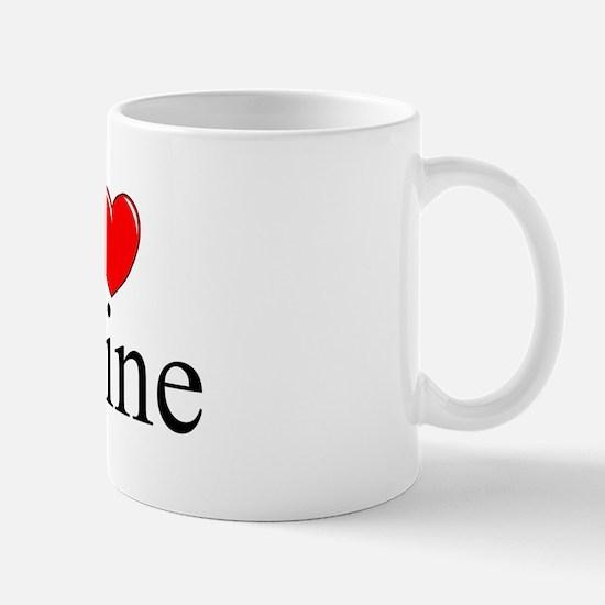"""""""I Love (Heart) Udine"""" Mug"""