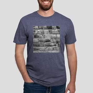 Brick Wall 11 Mens Tri-blend T-Shirt
