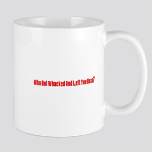 Who Got Whacked? Mug