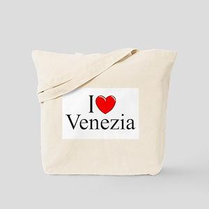 """I Love (Heart) Venezia"" Tote Bag"