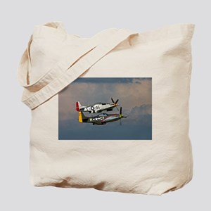 P-51 Mustang formation Tote Bag