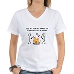 Fun And Games Women's V-Neck T-Shirt