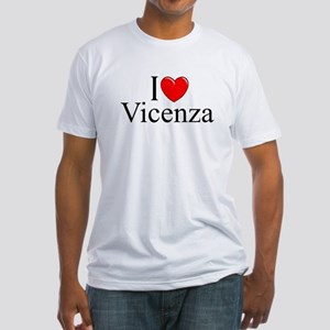 """""""I Love (Heart) Vicenza"""" Fitted T-Shirt"""