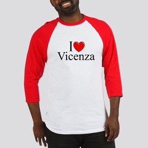 """I Love (Heart) Vicenza"" Baseball Jersey"