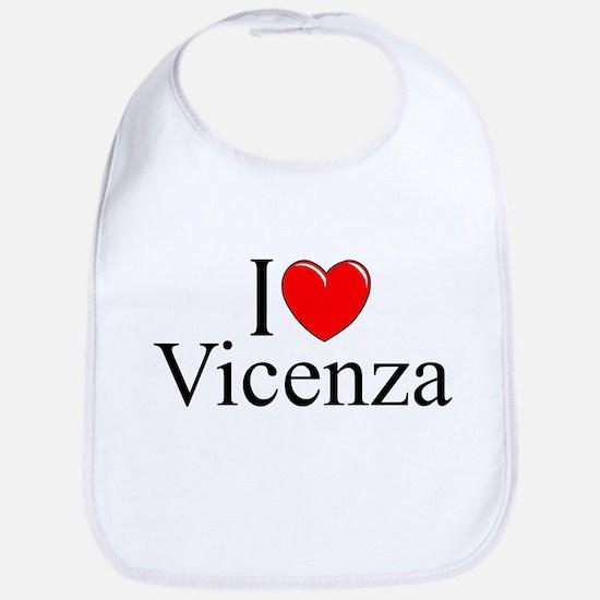 """I Love (Heart) Vicenza"" Bib"