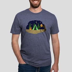 Campsite Mens Tri-blend T-Shirt