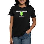 Aliens Probed Me Women's T-Shirt (Dark)