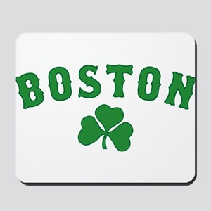 boston irish Mousepad